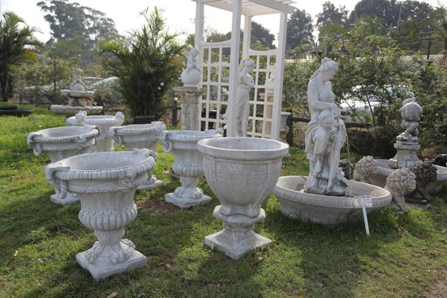 Garden D Cor Classic Concrete Pots