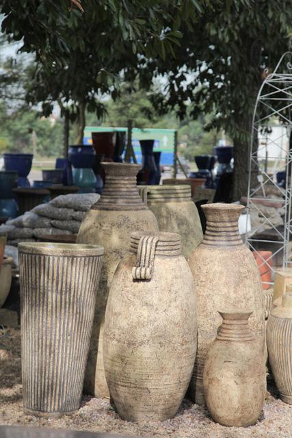 Garden D 233 Cor Clay Pots